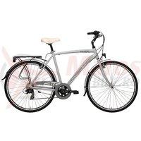 Bicicleta Adriatica Sity 3 Man 18V 28' gri mat