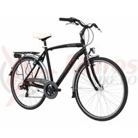 Bicicleta Adriatica Sity 3 Man 18V 28' negru mat