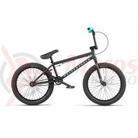Bicicleta BMX WTP Nova 20.5TT negru mat spec. ed. 20 inch 2020