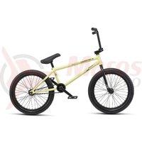 Bicicleta BMX WTP Reason 20.75TT 20 inch galben pastel mat 2019