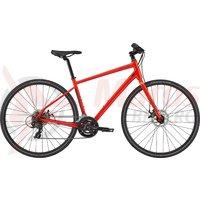 Bicicleta Cannondale Quick 5 Acid Red