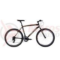 Bicicleta Capriolo Monitor Man black-orange
