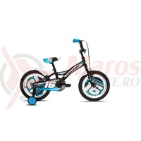Bicicleta Capriolo Mustang black-red-blue 20'