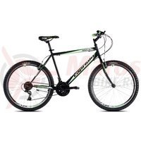 Bicicleta Capriolo Passion Man black-white-green