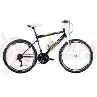Bicicleta Capriolo Passion Man white-black-green