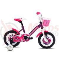 Bicicleta Capriolo Viola Girl violet 12
