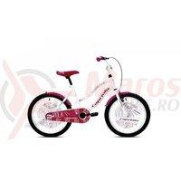 Bicicleta Capriolo Viola Girl white-violet 20