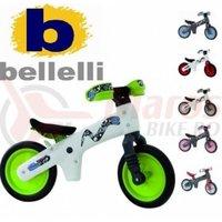 Bicicleta copii B-Bip alb cu verde