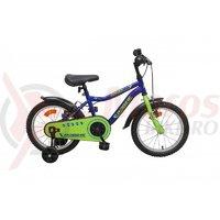 Bicicleta copii Robike Racer 16 albastru/verde
