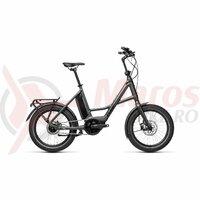 Bicicleta Cube 20' Compact Hybrid Iridium/Black 2021