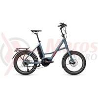 Bicicleta Cube 20' Compact Sport Hybrid Blue/Red 2021