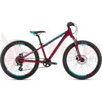 Bicicleta Cube Access 240 Disc Girl Berry/Aqua/Pink 2020