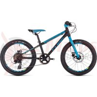 Bicicleta Cube Acid 200 Disc Black/Blue/Kiwi 2020