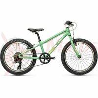 Bicicleta Cube Acid 200 Green White 20' 1x7v 2021