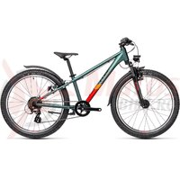 Bicicleta Cube Acid 240 Allroad Leaf Orange 24' 2021