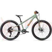 Bicicleta Cube Acid 240 Disc Green Orange 24