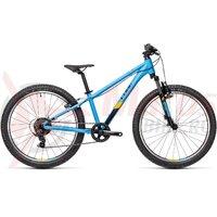 Bicicleta Cube Acid CMPT 240 Blue Orange 24' 1x7v 2021