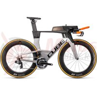 Bicicleta Cube Aerium C:68 SLT Low Carbon Polarsilver 2021