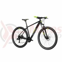 Bicicleta Cube AIM Black Green 27.5