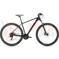 Bicicleta Cube Aim 29' Black/Red 2020