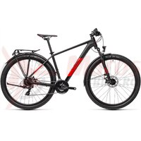 Bicicleta Cube Aim Allroad 27.5' Black/Red 2021