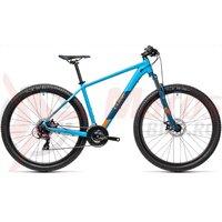 Bicicleta Cube AIM Blue Orange 27.5' 2021