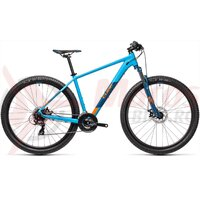 Bicicleta Cube AIM Blue Orange 29' 2021