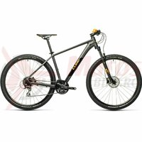 Bicicleta Cube Aim Race darkgrey/orange 2021
