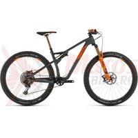 Bicicleta Cube AMS 100 C:68 TM 29 grey/orange