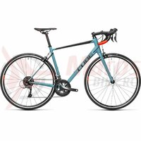 Bicicleta Cube Attain Greyblue/Red 2021