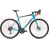 Bicicleta Cube Attain GTC SL Petrol/Orange 2021