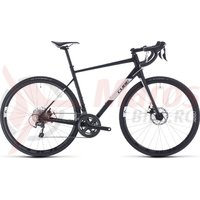 Bicicleta Cube Attain Race Black/White