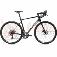 Bicicleta Cube Attain Race Black/White  2021