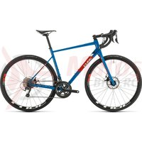 Bicicleta Cube Attain Race Blue/Red