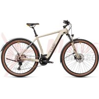 Bicicleta Cube Cross Hybrid Pro 500 Allroad Desert/Orange 2021