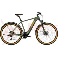 Bicicleta Cube Cross Hybrid Pro 500 Allroad green/orange 2020