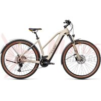 Bicicleta Cube Cross Hybrid Pro 500 Allroad Trapeze Desert Orange 2021