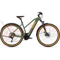Bicicleta Cube Cross Hybrid Pro 500 Allroad Trapeze green/orange 2020