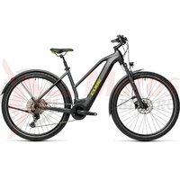 Bicicleta Cube Cross Hybrid Pro 500 Allroad Trapeze Iridium/Green 2021