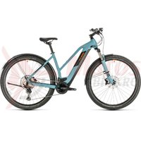 Bicicleta Cube Cross Hybrid Race 500 Allroad Trapeze blue/orange 2020