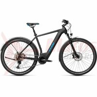 Bicicleta Cube Cross Hybrid Race 625 Allroad Black/Blue 2021