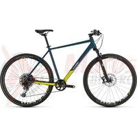 Bicicleta Cube Cross SL Blue/Lime 2020
