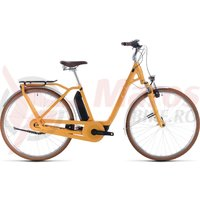 Bicicleta Cube Ella Cruise Hybrid 400 Easy Entry Yellow/White 2020