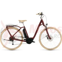 Bicicleta Cube Ella Ride Hybrid 400 Easy Entry Red/White 2020