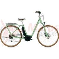 Bicicleta Cube Ella Ride Hybrid 500 Easy Entry green/white 2020