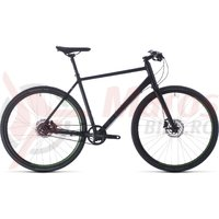 Bicicleta Cube Hyde Race Black/Green 2020