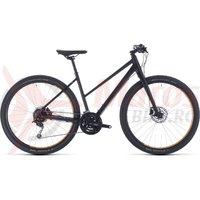 Bicicleta Cube Hyde Trapeze Black/Yellow 2020