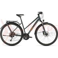 Bicicleta Cube Kathmandu EXC Trapeze Grey/Orange 2020