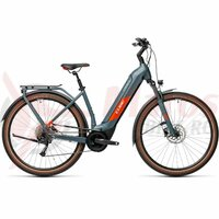 Bicicleta Cube Kathmandu Hybrid One 625 Easy Entry Blue/Red 2021