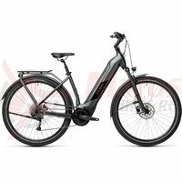 Bicicleta Cube Kathmandu Hybrid One 625 Easy Entry Iridium/Black 2021